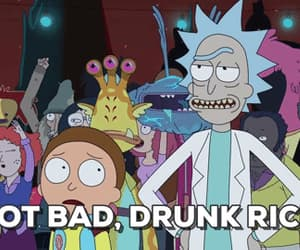 drink, funny, and gif image