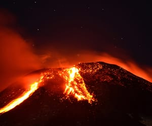beautiful, fire, and lava image