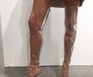 boots, heels, and see through image