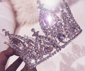 crown, luxury, and diamond image