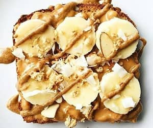 banana, bread, and delicious image