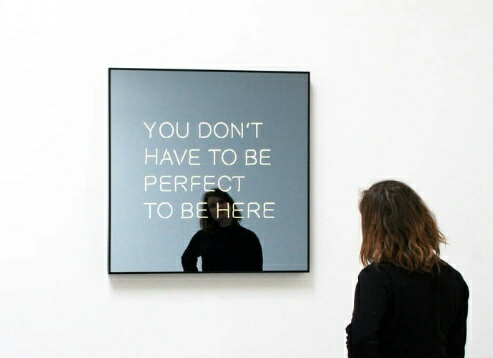 perfect, mirror, and quotes image