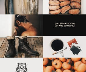 aesthetic, coffee, and donuts image