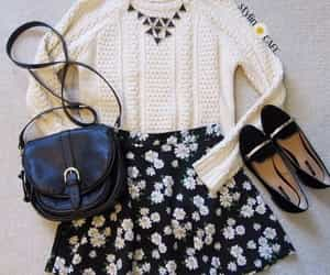 daisy, skirt, and necklace image