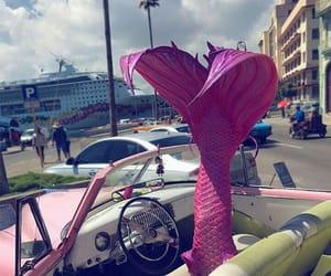 car, luxury car, and mermaids image
