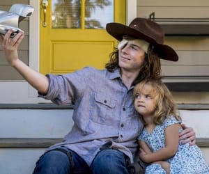 the walking dead, chandler riggs, and carl grimes image