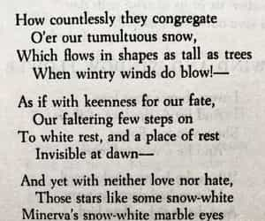poems, snow, and stars image