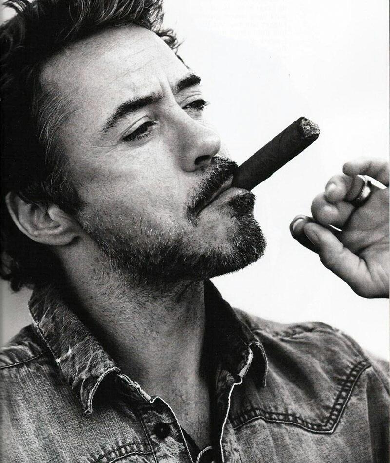 Прикольная картинка мужик курит