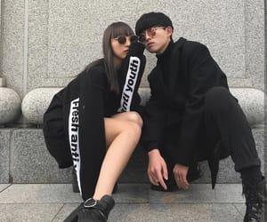 aesthetic, boy, and girl image