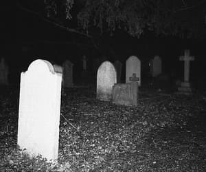 cemetery, dark, and hipster image