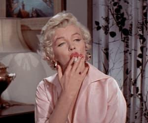 gif, Marilyn Monroe, and cigarette image
