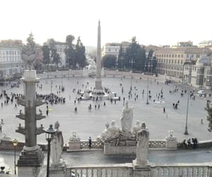 roma, rome, and piazza popolo image