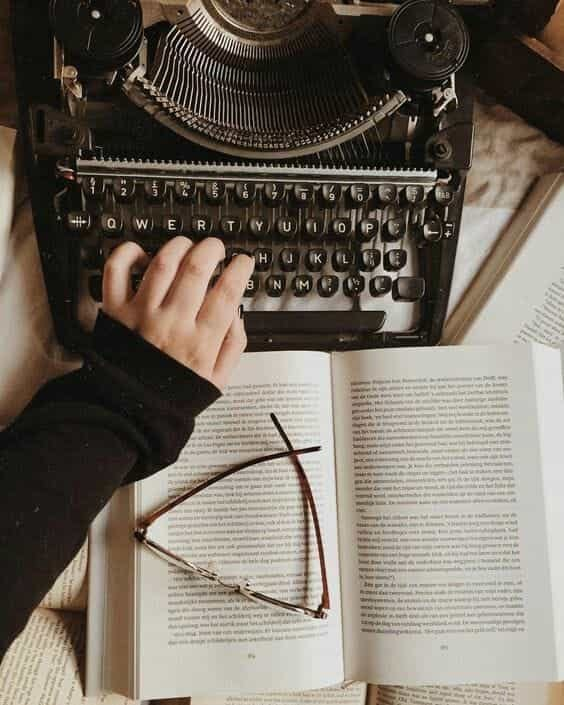 book, writing, and aesthetic image