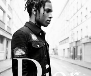 black and white and dior image