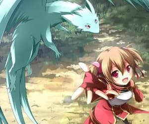 anime, silica, and cute image