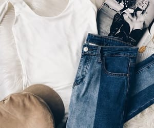 fashion, jeans, and lookbook image