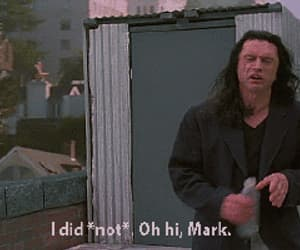 gif, tommy wiseau, and movie image