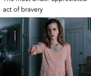 brave, harry potter, and hermoine granger image