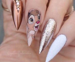 bambi, disney, and gold image