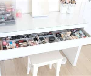 diy, organiser, and dressing table image