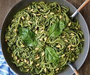 avocado, healthy, and noodles image
