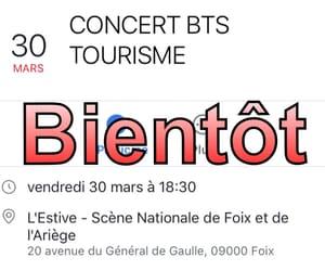 bientot, concert, and nouveau image