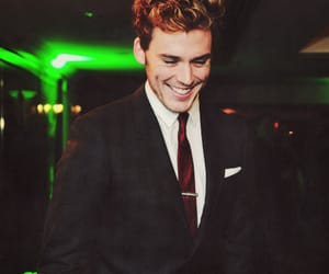sam claflin and catching fire image