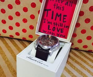 gift, romantic, and watch image
