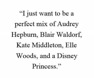 blair waldorf, quotes, and audrey hepburn image
