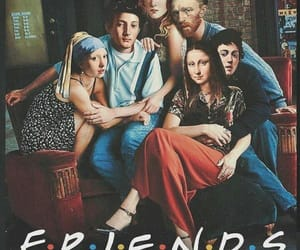 friends, art, and funny image