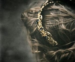 crown, hair, and love image