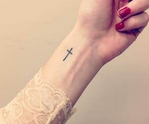 tattoo and cross image