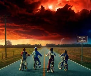 stranger things and strangerthings image