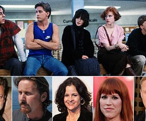 The Breakfast Club, 80's movies, and then and now image