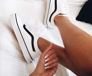 nails, shoes, and vans image