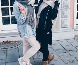 classy, hijab, and stylish image