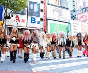gyaru, black diamond gal unit, and japan image