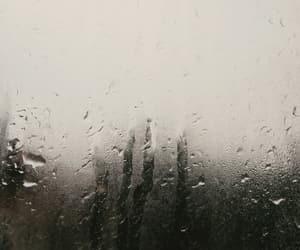aesthetic, gloomy, and rain image