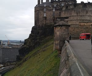castle, edinburgh, and schottland image