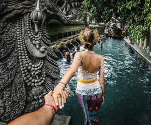 couple, travel, and bali image