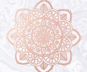 beautiful, gold, and mandala image