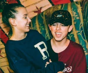 stranger things, jacob sartorius, and millie bobby brown image