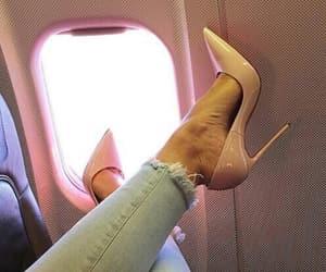 adventure, fashion, and heels image