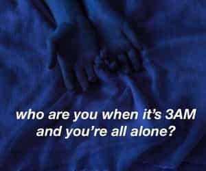 lyric, song, and 3am image