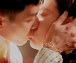 asian, couple, and gif image