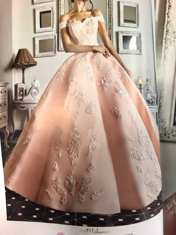 dress, quinceanera, and flowers image
