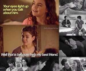 brandon, the fosters, and callie image