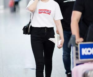 actress, airport fashion, and asian image