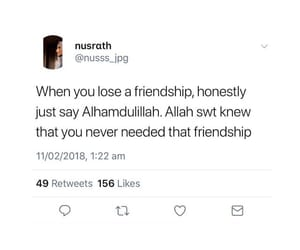 friendship, lose, and needed image