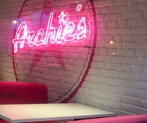 Archie, diner, and neon image
